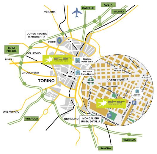 Hotel Torino Stazione Porta Nuova